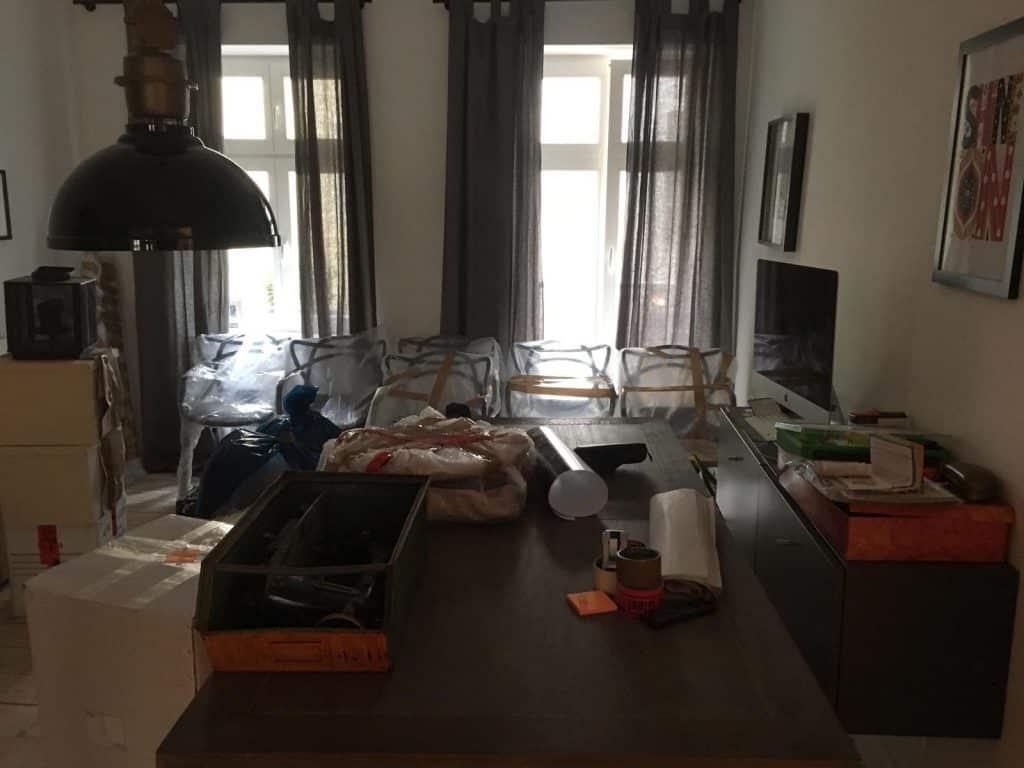 umzug, wohnzimmer berlin